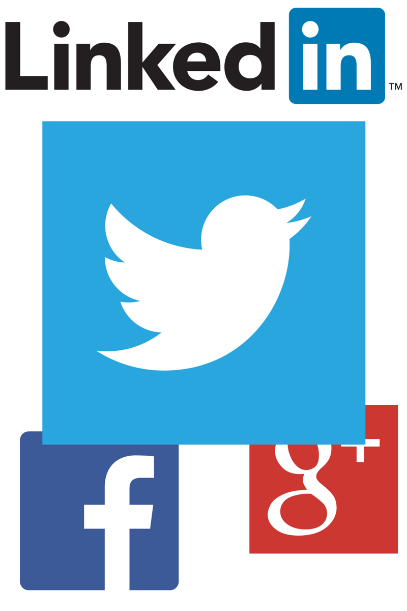 LinkedIn Twitter Facebook Google+ used in lead generation automation and social selling